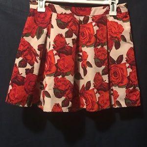Mini Rose Skirt